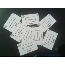 10 Supervisor Cards (Printed with EGT logo)