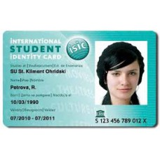RFID ID Card - Badge type (single side printed)