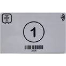 Check Point (or Status Point) RFID Card  (printed with EGT logo)